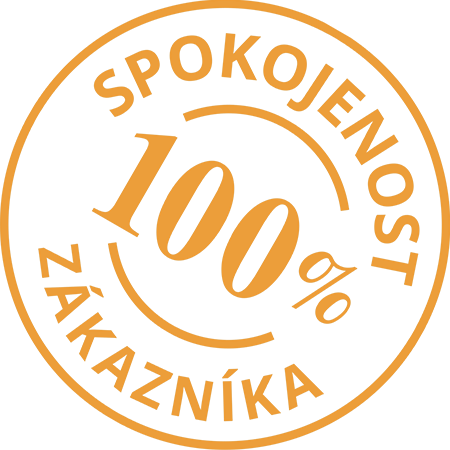 100% spokojenost zákazníka