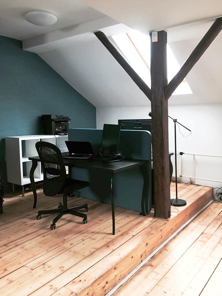 Desk place Virtuálního bydlení